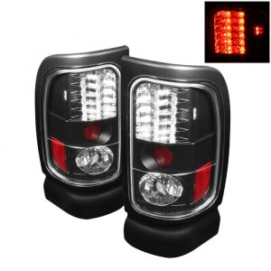 Spyder Auto ® - Black LED Tail Lights (5002693)