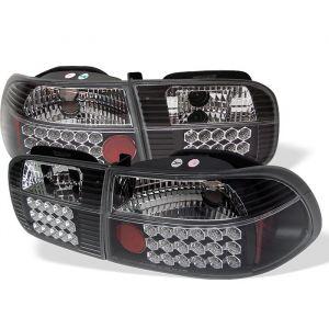 Spyder Auto ® - Black LED Tail Lights (5004727)