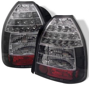 Spyder Auto ® - Black LED Tail Lights (5004925)