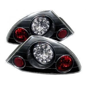 Spyder Auto ® - Black LED Tail Lights (5006318)
