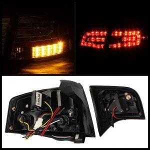 Spyder Auto ® - Black LED Tail Lights (5029287)