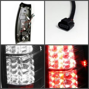 Spyder Auto ® - Black LED Tail Lights (5032461)