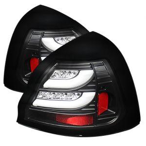 Spyder Auto ® - Black Light Bar LED Tail Light (5075581)