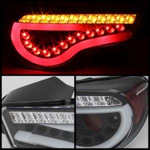 Spyder Auto ® - Black Light Bar LED Tail Lights (5072009)