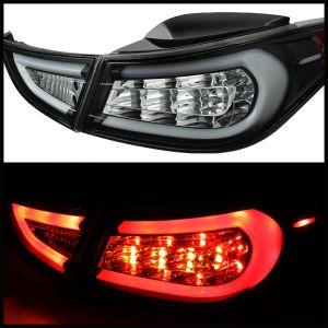 Spyder Auto ® - Black Light Bar LED Tail Lights (5072788)