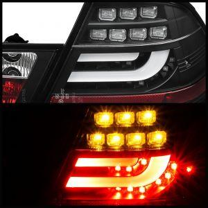 Spyder Auto ® - Black Light Bar LED Tail Lights (5073815)