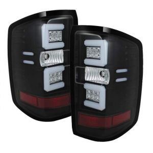 Spyder Auto ® - Black Light Bar LED Tail Lights (5079985)