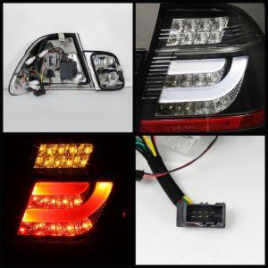 Spyder Auto ® - Black Light Bar Style LED Tail Lights (5015938)