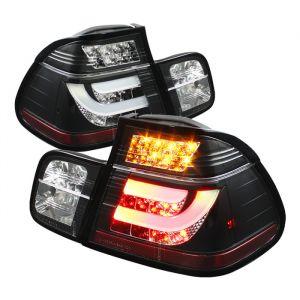 Spyder Auto ® - Black Light Bar Style LED Tail Lights (5037695)