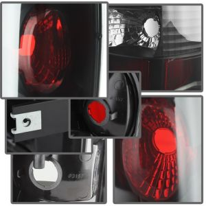 Spyder Auto ® - Black Smoke Euro Style Tail Lights (5078056)
