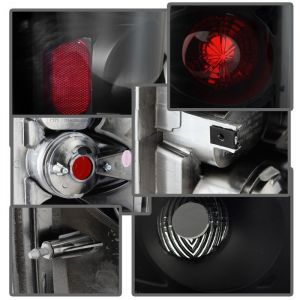 Spyder Auto ® - Black Smoke Euro Style Tail Lights (5078100)