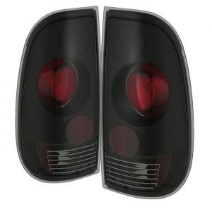 Spyder Auto ® - Black Smoke Euro Style Tail Lights (5078162)