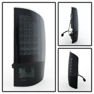 Spyder Auto ® - Black Smoke LED Tail Light (5078094)