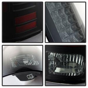 Spyder Auto ® - Black Smoke LED Tail Lights (5077578)