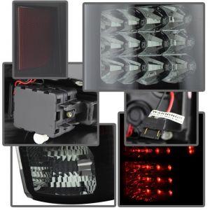 Spyder Auto ® - Black Smoke LED Tail Lights (5078001)