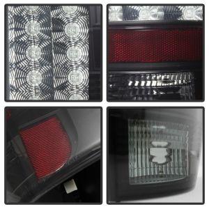 Spyder Auto ® - Black Smoke LED Tail Lights (5078087)