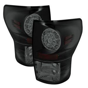 Spyder Auto ® - Black Smoke LED Tail Lights (5078254)