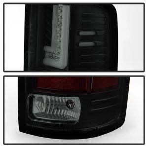 Spyder Auto ® - Black Smoke LED Tail Lights (5080707)