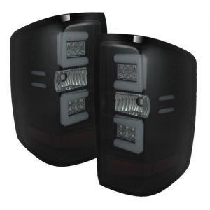 Spyder Auto ® - Black Smoke Light Bar LED Tail Lights (5079992)