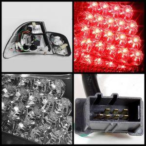 Spyder Auto ® - Black Tail Lights (5015044)