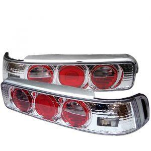 Spyder Auto ® - Chrome Euro Style Tail Lights (5000163)