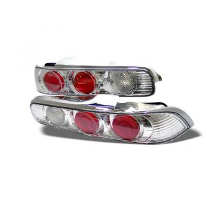 Spyder Auto ® - Chrome Euro Style Tail Lights (5000255)