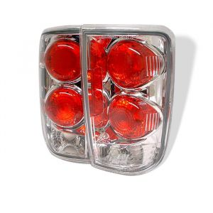 Spyder Auto ® - Chrome Euro Style Tail Lights (5001153)
