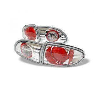 Spyder Auto ® - Chrome Euro Style Tail Lights (5001252)