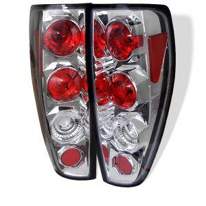 Spyder Auto ® - Chrome Euro Style Tail Lights (5001429)
