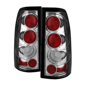 Spyder Auto ® - Chrome Euro Style Tail Lights (5001702)
