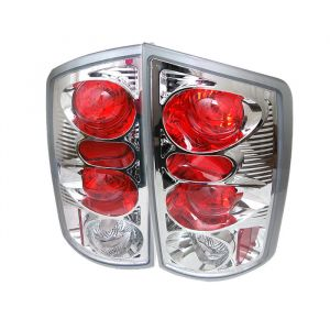 Spyder Auto ® - Chrome Euro Style Tail Lights (5002532)