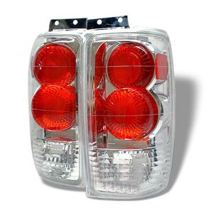 Spyder Auto ® - Chrome Euro Style Tail Lights (5002839)
