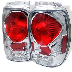 Spyder Auto ® - Chrome Euro Style Tail Lights (5003041)