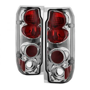 Spyder Auto ® - Chrome Euro Style Tail Lights (5003317)