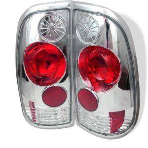 Spyder Auto ® - Chrome Euro Style Tail Lights (5003355)