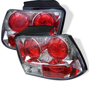 Spyder Auto ® - Chrome Euro Style Tail Lights (5003676)