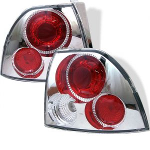 Spyder Auto ® - Chrome Euro Style Tail Lights (5004154)