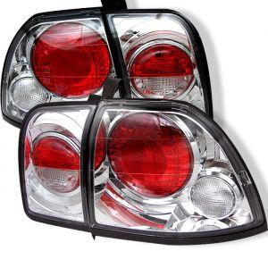 Spyder Auto ® - Chrome Euro Style Tail Lights (5004222)
