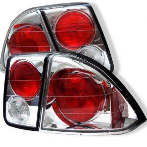 Spyder Auto ® - Chrome Euro Style Tail Lights (5004413)