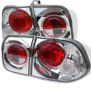 Spyder Auto ® - Chrome Euro Style Tail Lights (5004987)