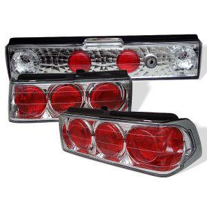 Spyder Auto ® - Chrome Euro Style Tail Lights (5005137)