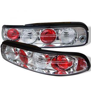Spyder Auto ® - Chrome Euro Style Tail Lights (5006059)