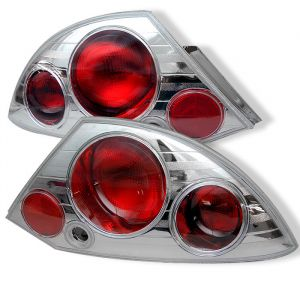 Spyder Auto ® - Chrome Euro Style Tail Lights (5006295)