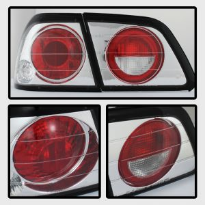 Spyder Auto ® - Chrome Euro Style Tail Lights (5006967)