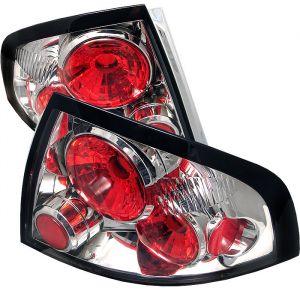 Spyder Auto ® - Chrome Euro Style Tail Lights (5007001)