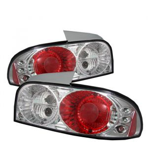 Spyder Auto ® - Chrome Euro Style Tail Lights (5007278)