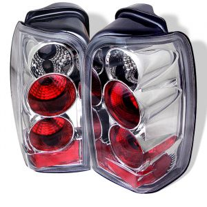 Spyder Auto ® - Chrome Euro Style Tail Lights (5007308)