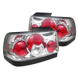 Spyder Auto ® - Chrome Euro Style Tail Lights (5007414)