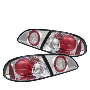 Spyder Auto ® - Chrome Euro Style Tail Lights (5007483)