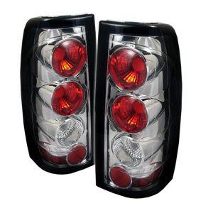 Spyder Auto ® - Chrome Euro Style Tail Lights G2 Version (5002020)